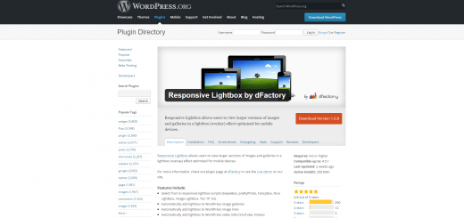Plugin Responsive Lightbox