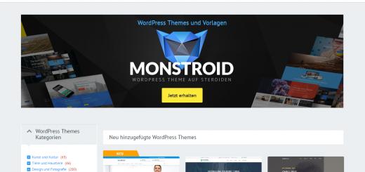 So sieht TemplateMonster.com aus