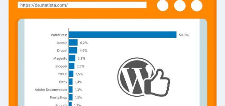 Die Top-10 Content-Management-Systeme weltweit